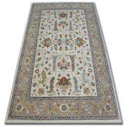 Teppich ARGENT - W7039 Blumen Sahne / Beige