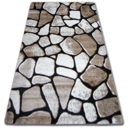 Teppich ALMIRA 7055  dunkelbraun
