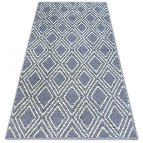Teppich BCF BASE CONTOURS 3957 QUADRATE grau
