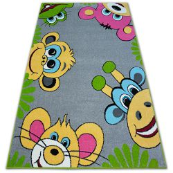 Teppich FUNKY TOP TIG Graphit