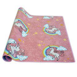 Teppichboden für Kinder UNICORN rosa