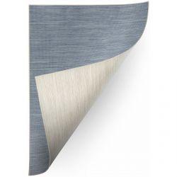 Teppich Doppelseitiges DOUBLE 29201/35 blau melange/beige