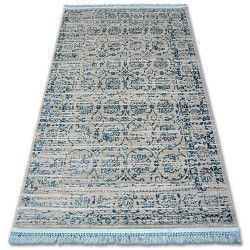 Teppich ACRYL MANYAS 193AA Grau/Blau Franse