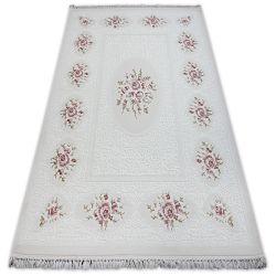 Teppich ACRYL MIRADA 5406 Elfenbein ( Kemik ) Franse
