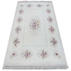 Teppich ACRYL MIRADA 5406 Lila ( Murdum ) Franse