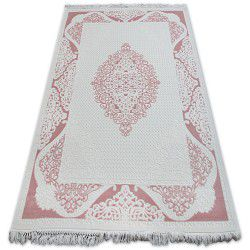 Teppich ACRYL MIRADA 5416 pulver ( Pudra ) Franse