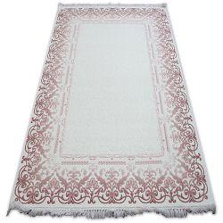Teppich ACRYL MIRADA 0143 Sahne (Pembe) Franse
