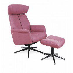 Der Stuhl recliner VIVALDI dunkel pink