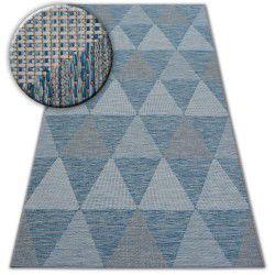 Teppich LOFT 21132 elfenbein/silber/blau