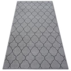 Teppich SENSE 81220 Silber/Anthrazit
