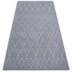 Teppich SENSE 81249 silber/weiß