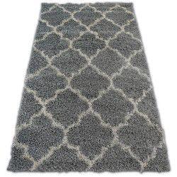 Teppich SHAGGY GALAXY TRELLIS - 8175 grau