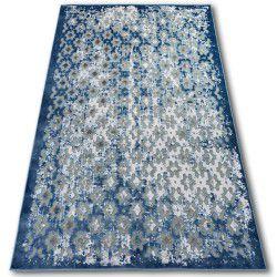 Teppich ACRYL YAZZ 7006 Grau/Blau/Elfenbein