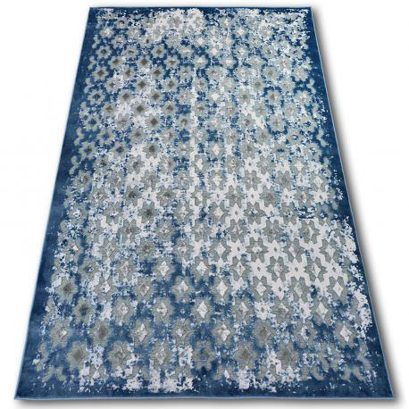 Teppich ACRYL YAZZ 7006 Blau/Elfenbein
