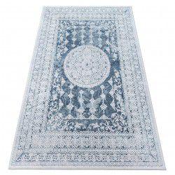 Teppich ACRYL VALENCIA 2328 Blau/Elfenbein
