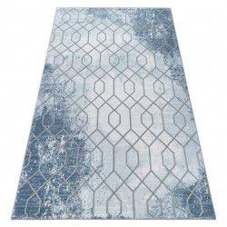 Teppich ACRYL VALENCIA 3951 Blau/Grau