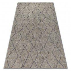 Teppich SOFT 8050 Sahne/Hellbraun