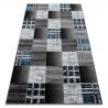 Teppich FEARY N9045 Schachbrett grau