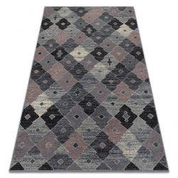 Teppich FIKA 78451 grau / rosa