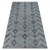 Teppich SIERRA G5015 Fischgrätenmuster blau