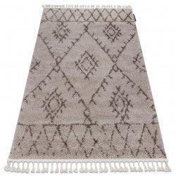 Teppich BERBER FEZ G0535 beige / braun Franse berber marokkanisch shaggy zottig