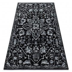 Teppich RETRO HE184 schwarz / weiß