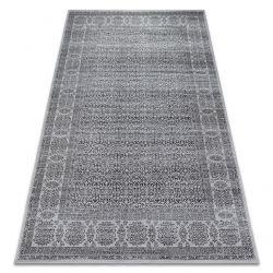 Teppich NOBIS 84302 silber/anthrazit - Rahmen