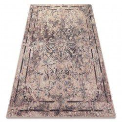 Teppich Wolle Kerman Delice Sand