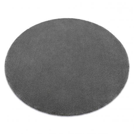 Teppich rund STAR grau
