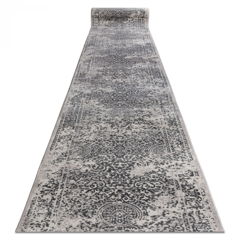 Modernen Läufer /'VINTAGE/' sahne grau Breite 80 cm beliebige Länge original
