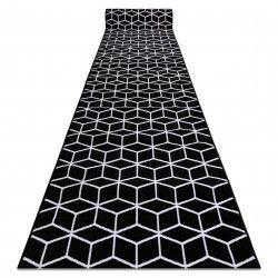 Läufer BCF ANNA 2959 schwarz Würfel cube