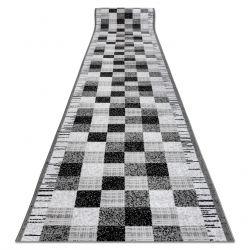 Läufer BCF ANNA 2954 grau Quadrate
