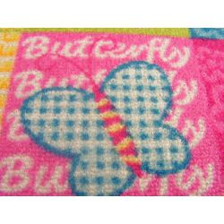 Baby-Teppich BUTTERFLY