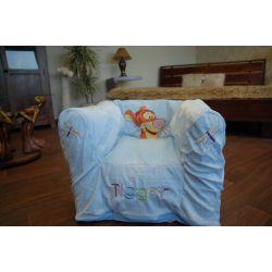 Aufblasbare Stuhl DISNEY TIGER blau