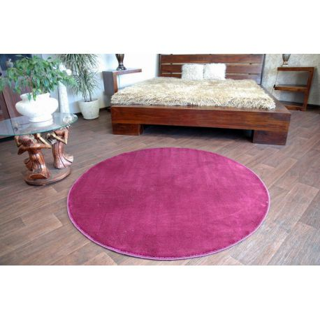 Teppich kreis ULTRA lila
