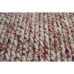 Teppichbode LASER 20 beige-purpur