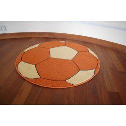 Teppich WELIRO kreis BALL Terrakotta