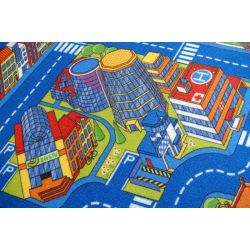 Teppich ULICZKI BIG CITY blau