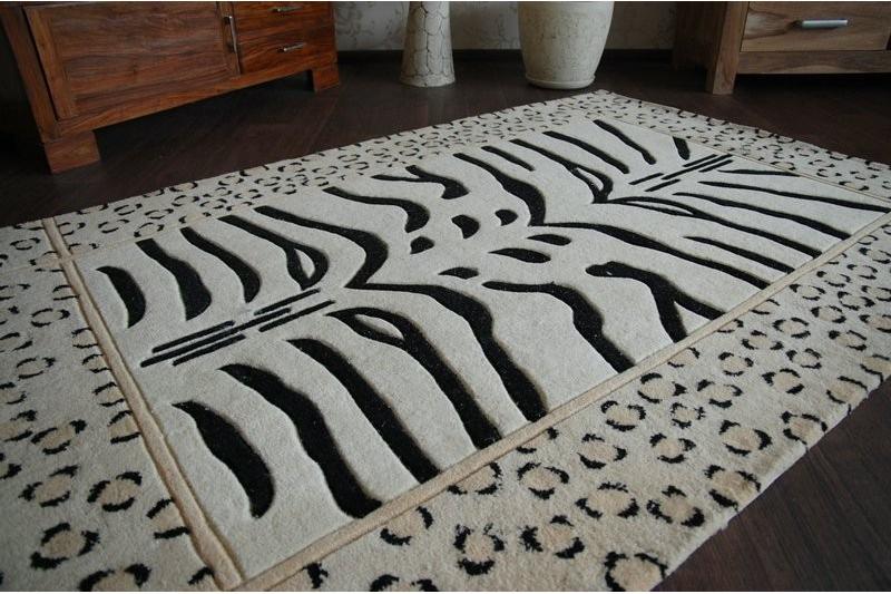 teppich chi ski zebra a. Black Bedroom Furniture Sets. Home Design Ideas