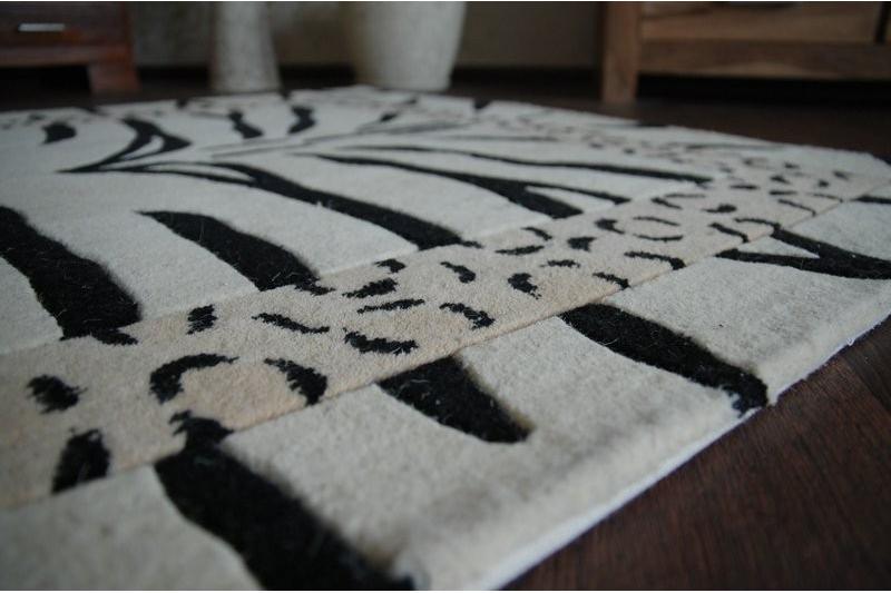 teppich chi ski zebra b. Black Bedroom Furniture Sets. Home Design Ideas