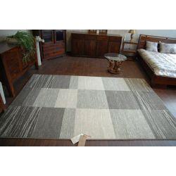 Teppich NATURAL SPLIT grau