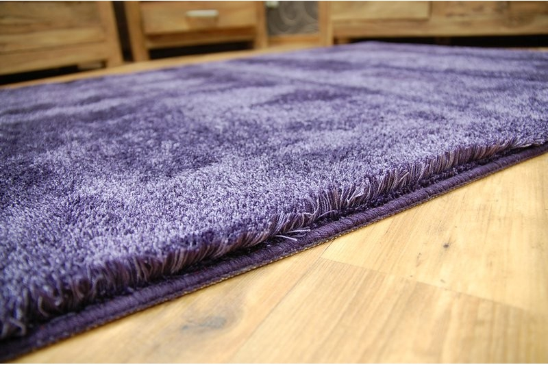 teppich microfibra shaggy lila. Black Bedroom Furniture Sets. Home Design Ideas