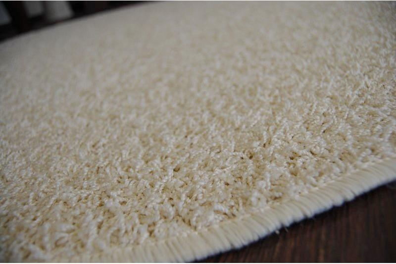 Teppich kreis GLITTER 312 cremig