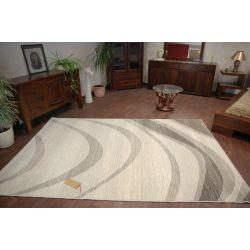 Teppich NATURAL TRAME grau