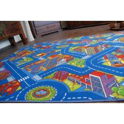 Teppichboden ULICZKI BIG CITY blau