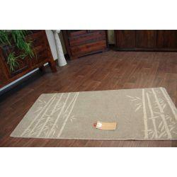 Teppich NATURAL BAMBU braun