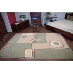 Teppich MODERN BUK grün
