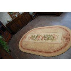 Teppich ASTRUM oval ARKADIA terrakotta