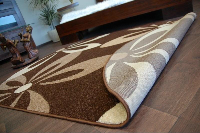 teppich karamell oval cocoa braun. Black Bedroom Furniture Sets. Home Design Ideas