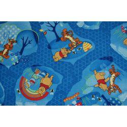 Teppichboden WINNIE WOODLAND blau